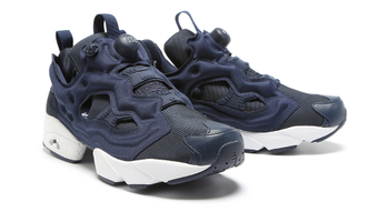 Reebok Insta Pump Navy Blue (37-45)Арт. 266F-A