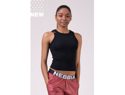 Укороченный топ Sports NEBBIA Labels crop top 516