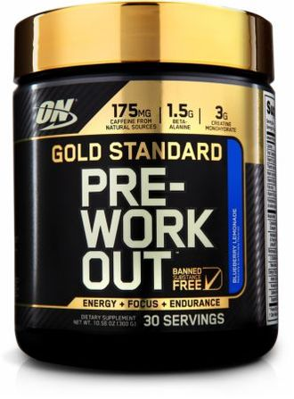 Optimum Nutrition Gold Standart PRE-Workout 30 порций (300 гр)