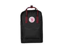 Рюкзак Kanken Laptop 15 Black-Ox Red черный
