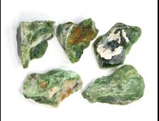 Опал зеленый в ассортименте, Казахстан (35-45 мм, 10-13 г) №22903