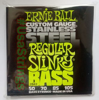 ernie ball 2842 50-105 stainless-steel