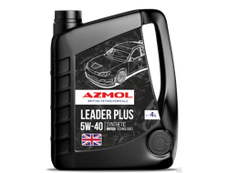 Масло моторное AZMOL Leader Plus 5W40 SN/CF 4л. синт. (4)