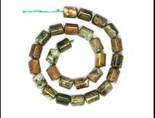 Бусина Риолит, цилиндр 14*10 мм (1 шт) №18928