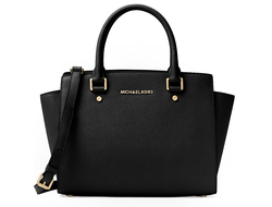Сумка Michael Kors Selma Large (Чёрная)