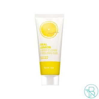 Пилинг-гель для лица FarmStay Real Lemon Deep Clear Peeling Gel с экстрактом лимона