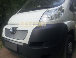 Защита радиатора Peugeot Boxer 2006-2014 chrome низ