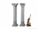 Two antique columns