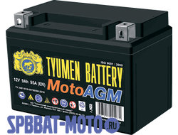Аккумулятор TYUMEN BATTERY 6MTС-9 AGM