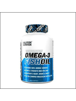Омега 3 EVLution Nutrition Omega-3 fish oil 60 softgels x 1250mg