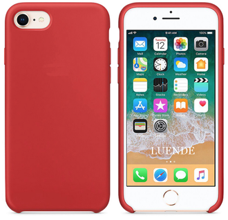 iPhone 7 Silicone Case красный