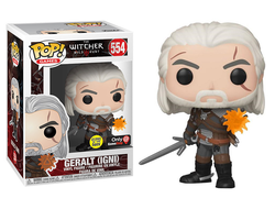 Купить Фигурку Funko POP! Vinyl: Games: Witcher: Geralt (GW) (Exc) 45039