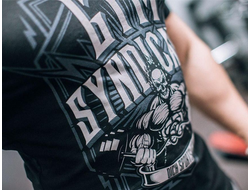 "Футболка DICH: Classic T-Shirt Black ""Gym Syndicate"""