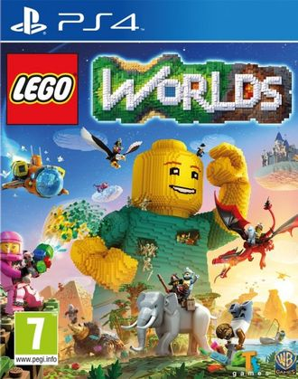 Диск Sony PS4 Lego Worlds