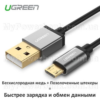 UGREEN USB/micro-USB Gold