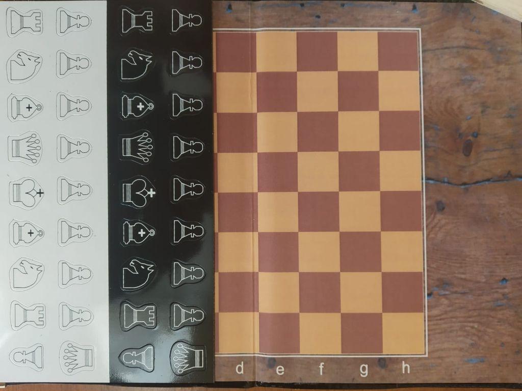 Шахматы магнитные -книжка