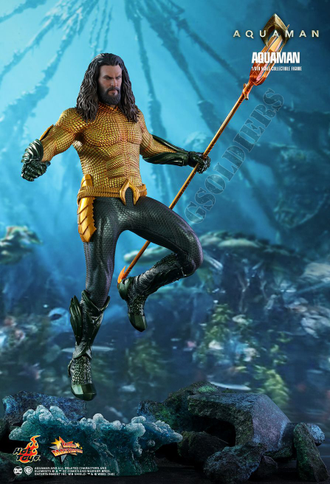 Аквамен (Джейсон Момоа) Коллекционная ФИГУРКА 1/6 scale Aquaman, Jason Momoa MMS518 Hot Toys