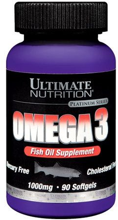 Omega 3 (Ultimate) 1000 мг. 90 гел капс