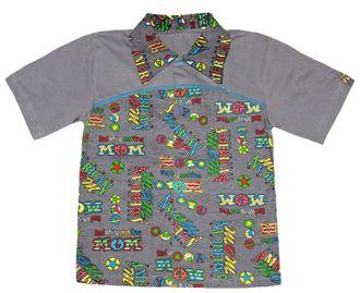 Рубашка (Артикул 2104-013) цвет серый