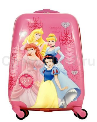50a24d20636e Пластиковый чемодан с принцессами из мультфильмов - купить за 1 990 ...