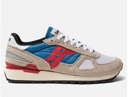 Кроссовки Saucony Shadow Original Vintage Grey Blue Red