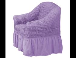 Чехол Стандарт на кресло, цвет Лиловый