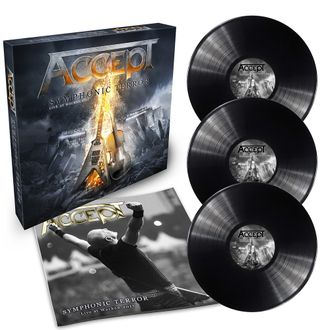 ACCEPT Symphonic terror - Live at Wacken 2017 3-LP BOX