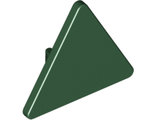 Road Sign 2 x 2 Triangle with Clip, Dark Green (892 / 6133668)