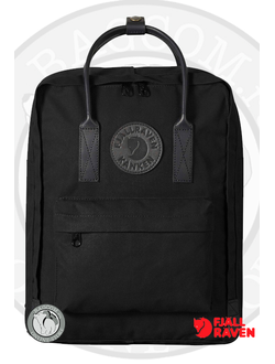 Fjallraven Kanken No.2 Total Black в интернет магазине Bagcom