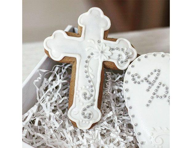 пряники на крестины фото
