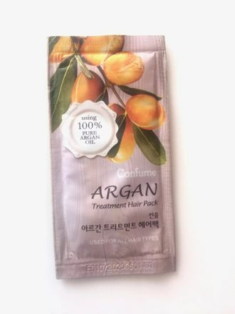 Маска для волос с маслом арганы Confume Argan Treatment Hair Pack (пробник)