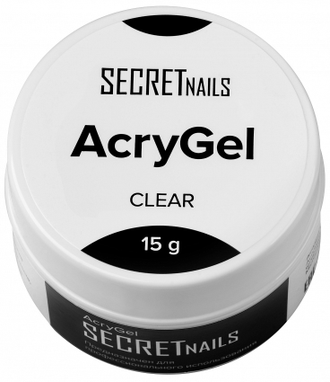Акригель SECRETnails Cosmoprofi Flex Clear 15гр прозрачный