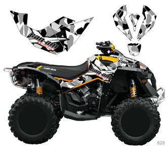 Can-am BPR Renegade #828