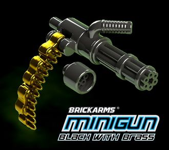 Brickarms Minigun black