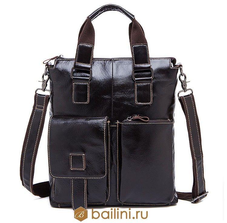 8cac7f0843d1 Мужские сумки - Мужская сумка Bailini Indiana Jones Black