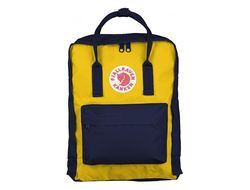 Рюкзак Fjallraven Kanken Navy Warm Yellow (Classic)