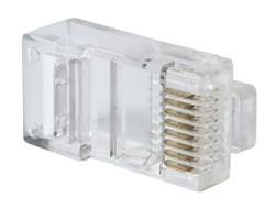 Коннектор RJ-45 Optimus (Cat-5e, 8P8C) (1 шт)