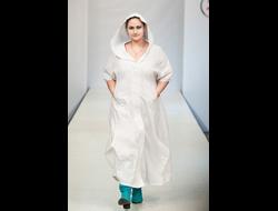 4544cd9833dae2c Платье из белого льна с вышивкой Наталья Гайдаржи АРТ - ПВБ1001/НА ЗАКАЗ