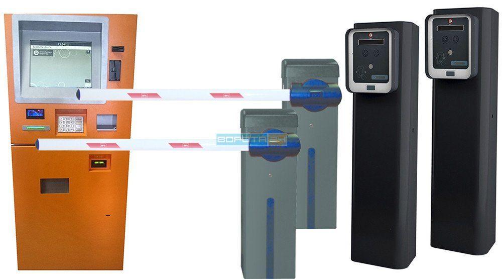 установка пропускного оборудования - паркоматы
