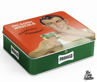 Набор для бритья PRORASO VINTAGE SELECTION GINO эвкалипт и ментол