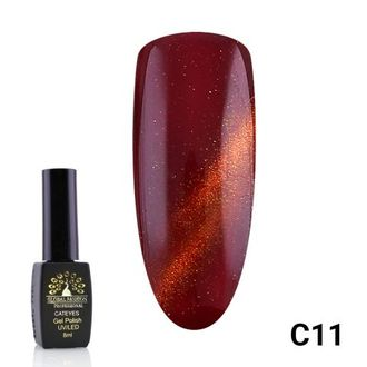 Гель-лак Global Fashion cat eye C11