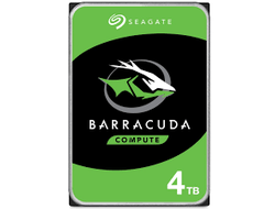 Жесткий диск для видеонаблюдения HDD  4Tb Seagate Barracuda