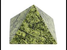 Пирамида Змеевик, Россия, Урал (56*56*38 мм, 106 г) №20674