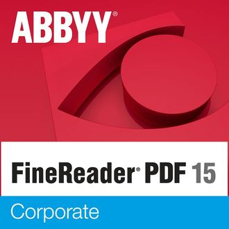 ABBYY FineReader PDF 15 Corporate ( подписка на 3 года,  AF15-3S5W01-102 )