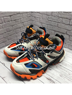 BALENCIAGA TRACK BLUE ORANGE МУЖСКИЕ
