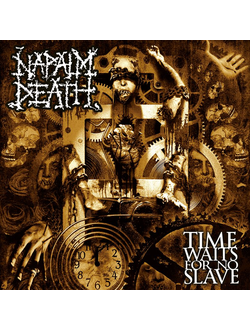 NAPALM DEATH - Time Waits For No Slave CD