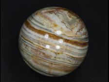Шар Оникс мраморный, Пакистан (47 мм, 157 г) №20820