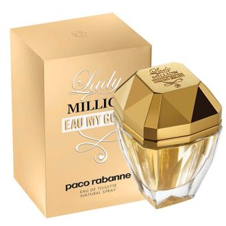 Lady Million Eau My Gold Paco Rabanne женский парфюм