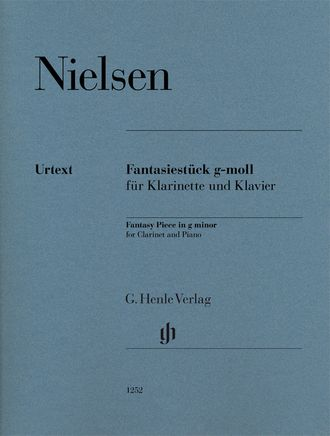 Nielsen Fantasy Piece g minor for Clarinet and Piano