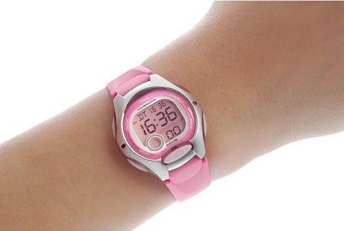 279a22bf Женские электронные японские наручные часы Casio LW-200-4B купить в ...